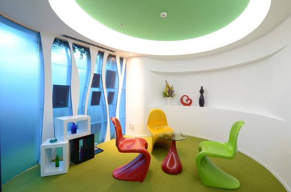 Màu sắc văn phòng có thể mang lại nguồn năng lượng tích cực cho nhân viên
