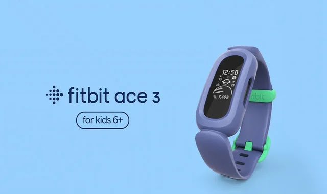Ace 3 .. The latest Fitbit kids' fitness tracker