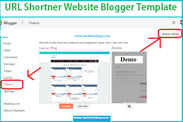 Install Url Shortener Blogger Script Download