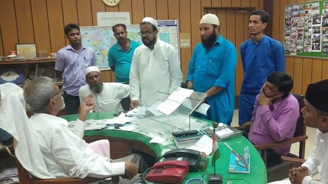 ভারতের পশ্চিমবঙ্গে মুসলিমদের উপর নির্যাতনের প্রতিবাদে সংখ্যালঘু কমিশনে স্মারকলিপি