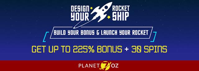 Design your Rocket Ship Promo