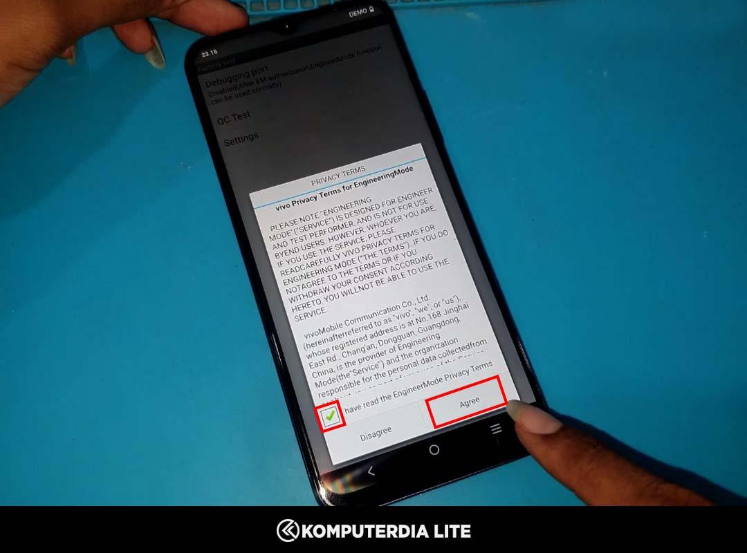 Cara Gratis Menghapus Demo (Iklan Demo) di HP Vivo Y53s Permanen Dengan MOAFDL