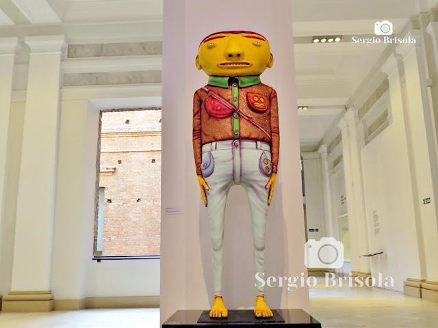 Escultura Paminondas - OsGemeos