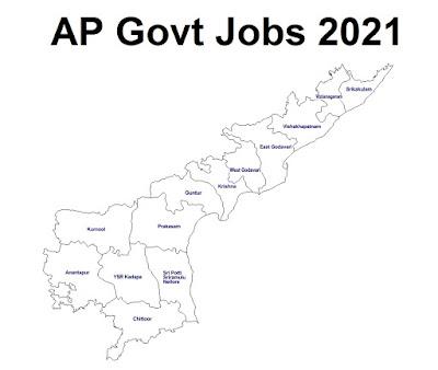 Andhra Pradesh (AP) Govt Jobs 2021