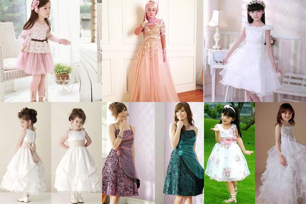 Tips Memilih Gaun Pesta Anak