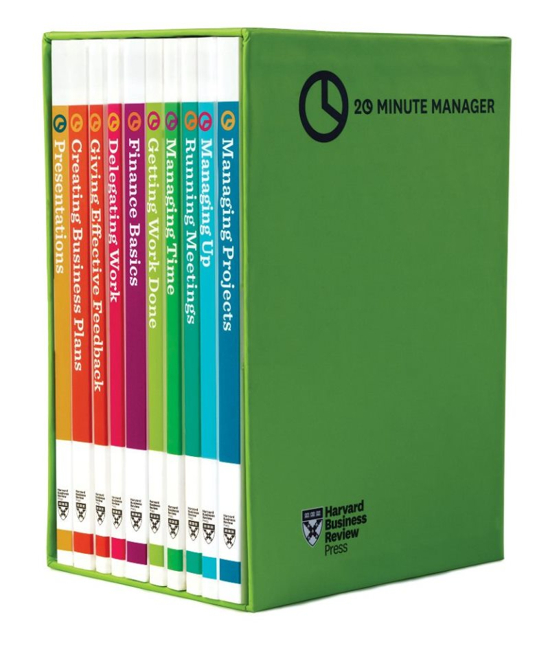 HBR's 20 Minute Manager Boxed Set (10 Books)