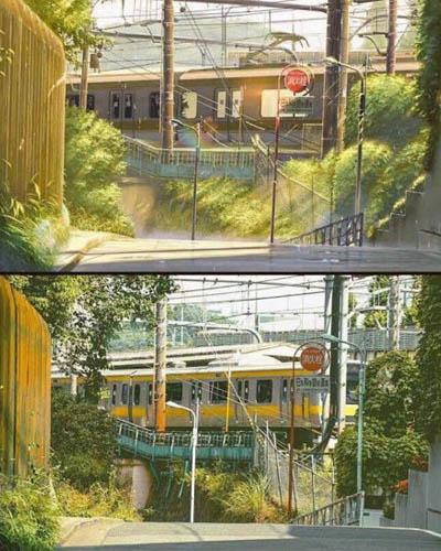 47 gambar Anime vs Dunia nyata yang menakjubkan untuk dikagumi