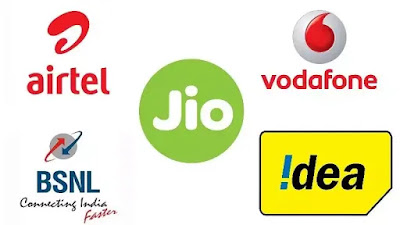 Jio, Airtel, Vodafone, Idea और  BSNL  के बेस्ट 1.5 GB Internet Data Plans