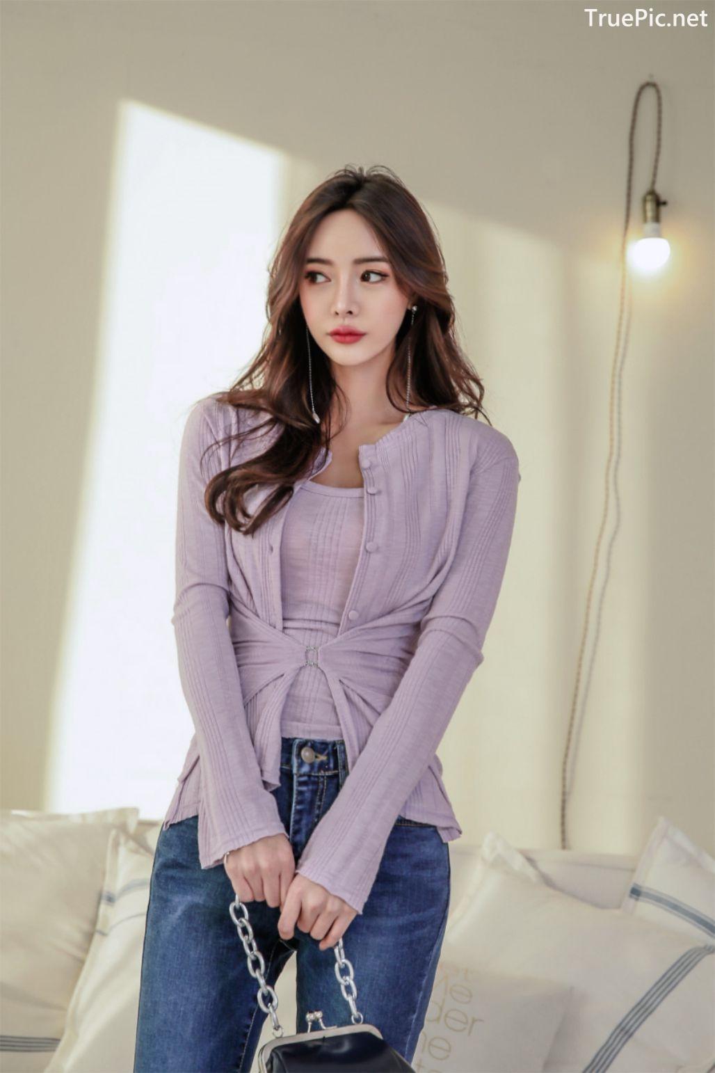 Image-Korean-Fashion-Model-Kim-Bo-Ram-Jeans-Set-Collection-TruePic.net- Picture-5
