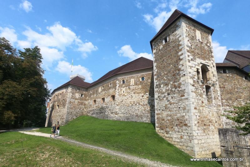 Castelo de Ljubljana Eslovênia