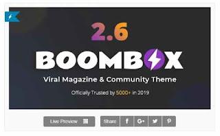 Download Theme Wordpress BoomBox Viral Magazine