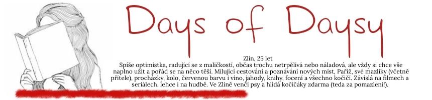 Days of Daysy - knižní recenze, tipy na výlety / cestování