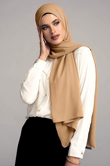 Beautiful Chiffon Head Scarves Hijab Shawls Pashmina