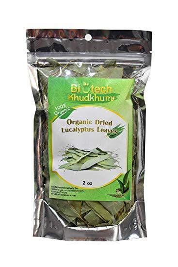 Organic Dried Eucalyptus Leaves 2.0Oz