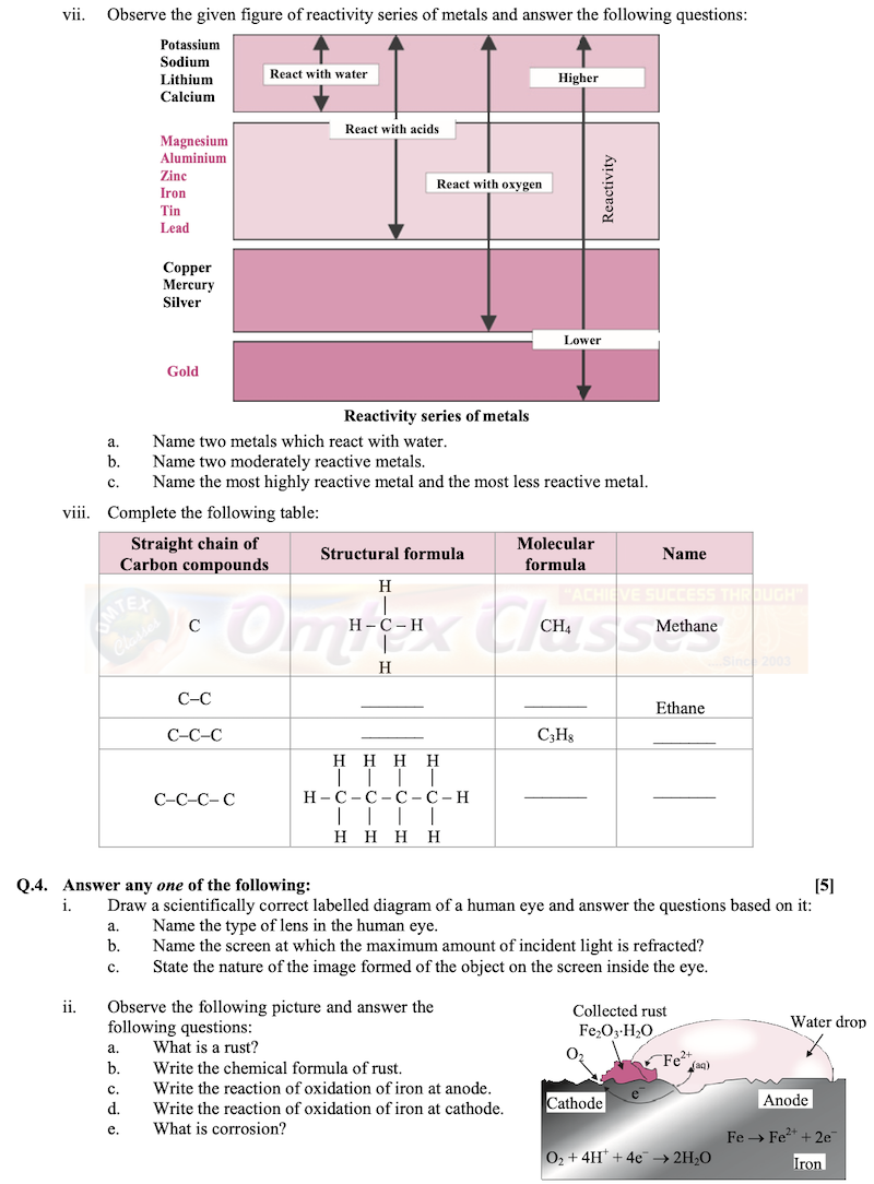 SSC-Science-1-Question-Paper-2020-March-English-Medium-Std-10th-Maharashtra-Board
