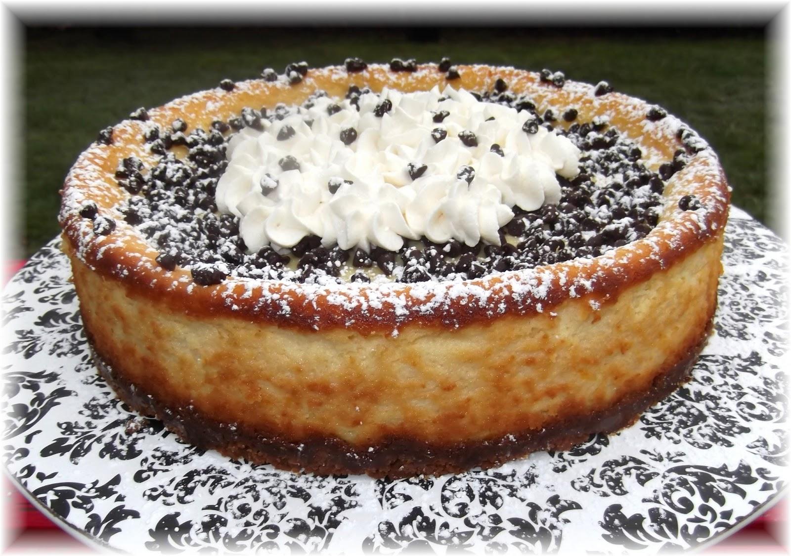 Rosie S Country Baking Cannoli Cheesecake