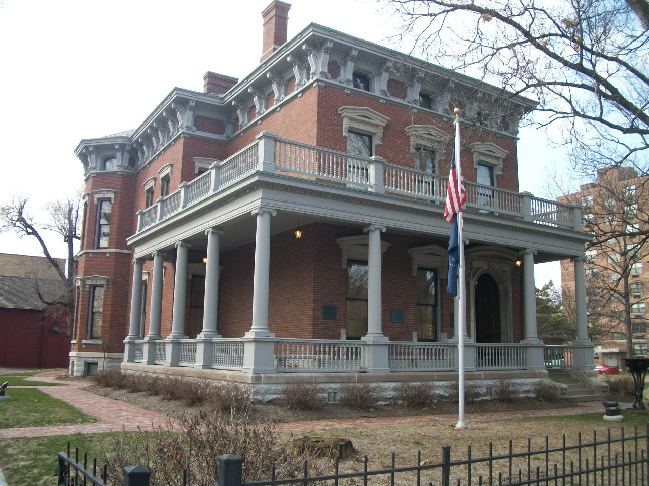 POTUS historical sites: Benjamin Harrison  Benjamin Harrison House
