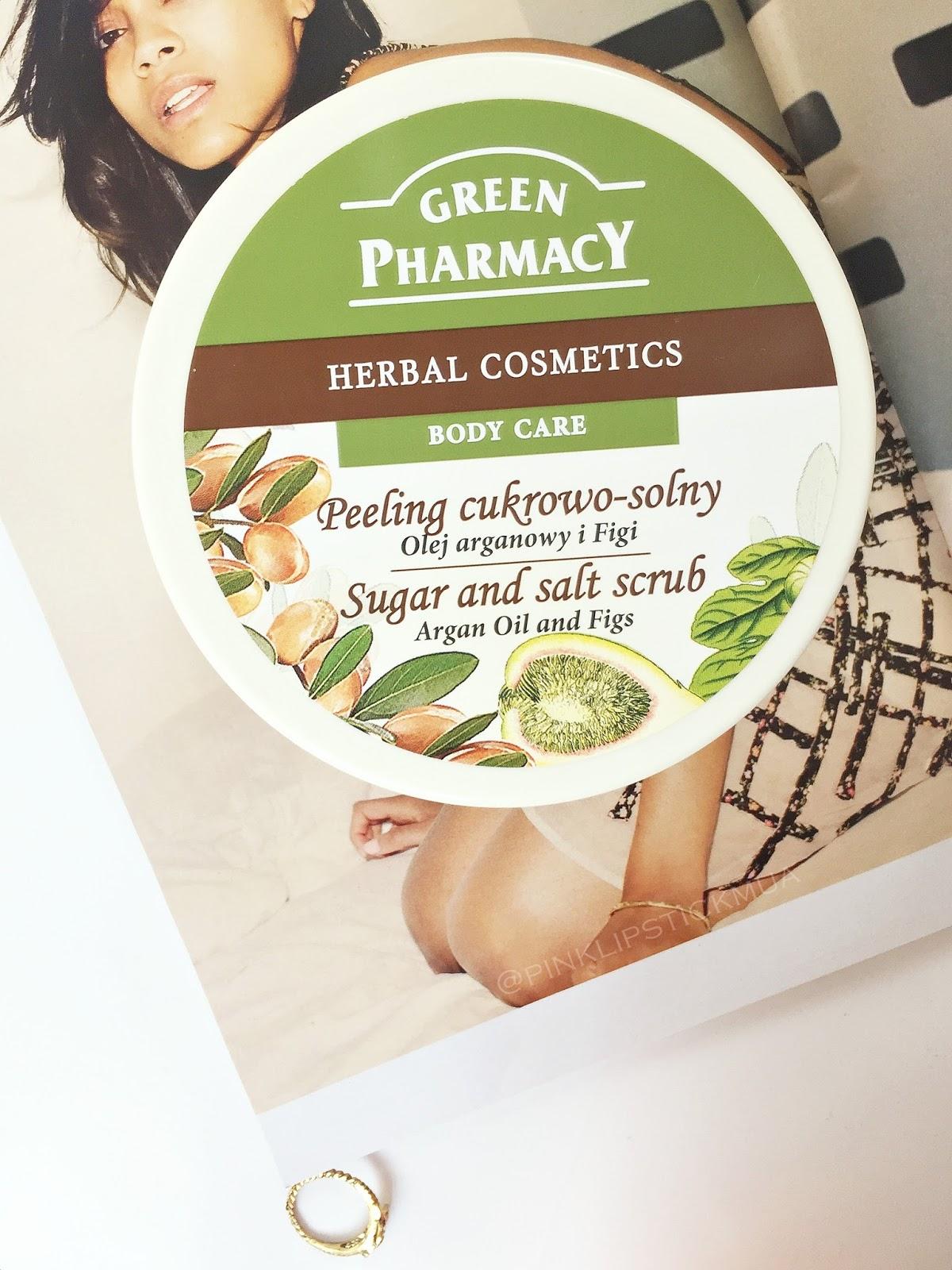 Green Pharmacy Peeling cukrowo-solny