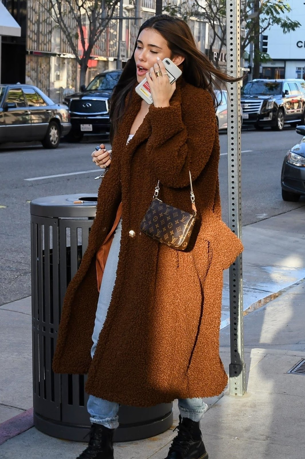 Madison Beer - Shopping on Rodeo Drive in Beverly Hills, CA - 02/11/2019