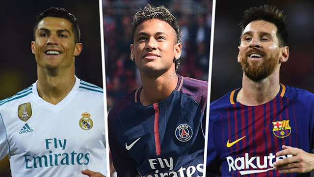 """""""Làm xiếc"""" với bóng: Neymar ăn đứt Messi, Ronaldo """"tầm thường"""" 2"""