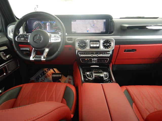 MERCEDES BENZ AMG G CLASS LEATHER EXCLUSIVE 2018г.
