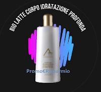 Logo Abano Terme Cosmesi ''Giveaway Monday'' e vinci gratis Bio-Latte Corpo Idratazione Profonda