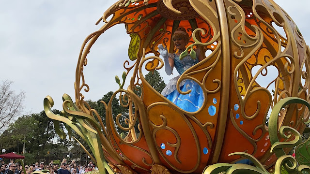 Cinderella Magic Happens Float