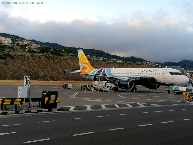 TRADE AIR - A320 - LPMA