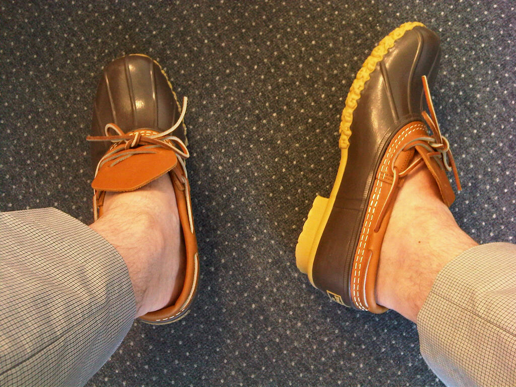 Inner City Style Just Arrived My New L L Bean Rubber Mocs
