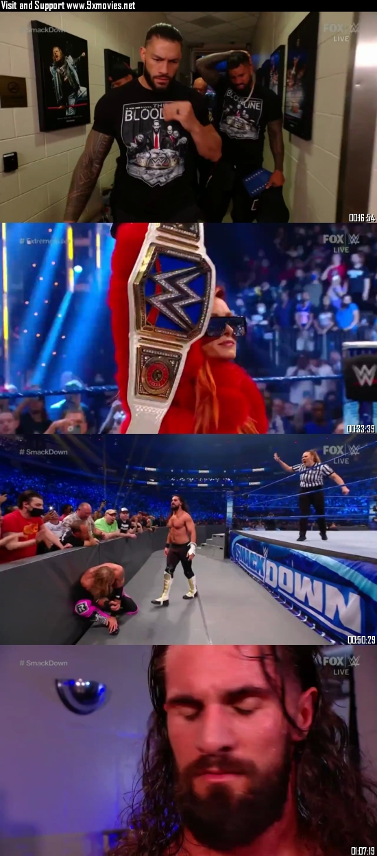 WWE Friday Night Smackdown 10 Sept 2021 HDTV 720p 480p 300MB