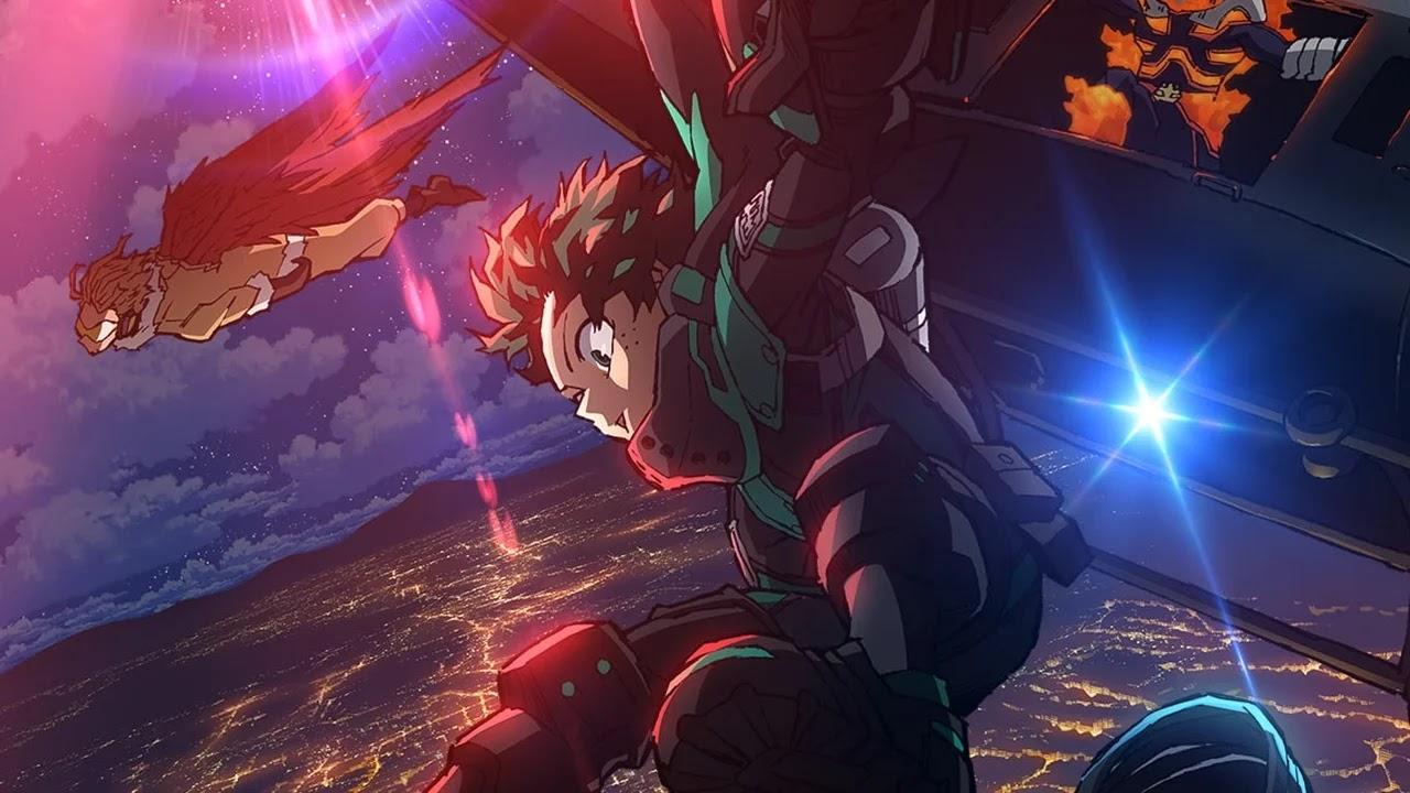 Novo Filme de Boku no Hero Academia já ultrapassa 3 bilhões de ienes em lucro