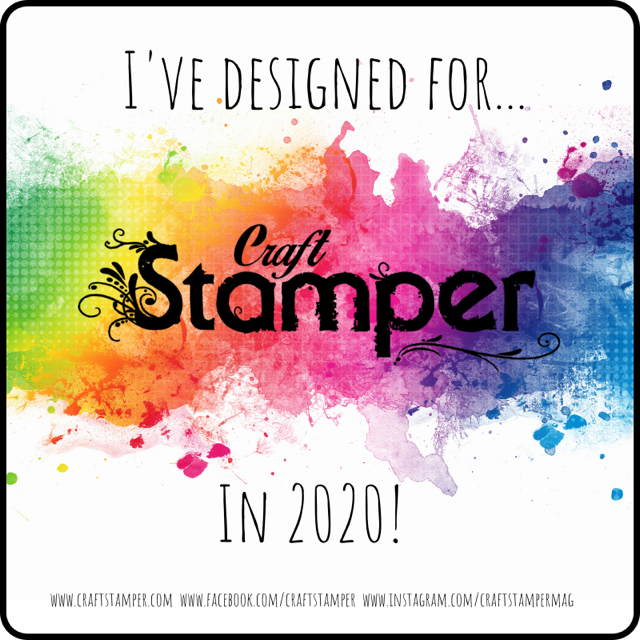 I've Designed for Craft Stamper Magazine