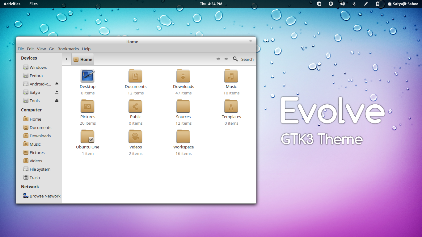 5 Nice GNOME 3.4 Themes [Ubuntu PPA Available]