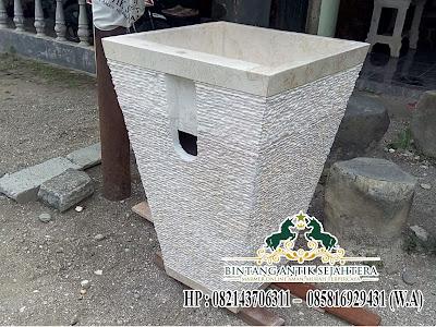 Pedestal Batu Marmer