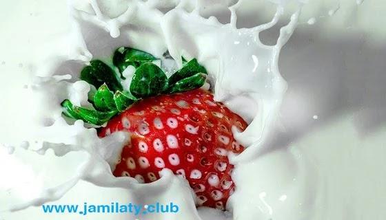 تبييض و تفتيح الوجه بالفروالة و الحليب ، Facial-whitening-recipes