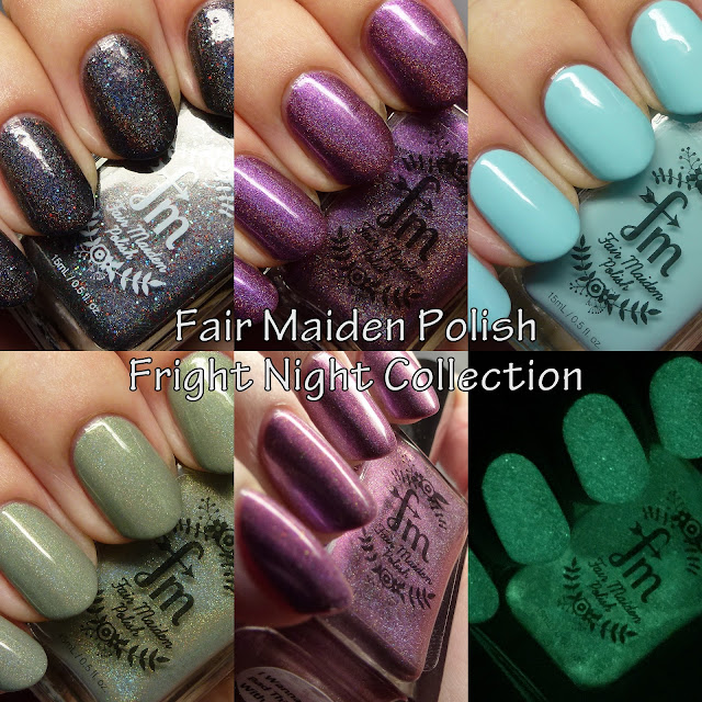 Fair Maiden Polish Fright Night Collection