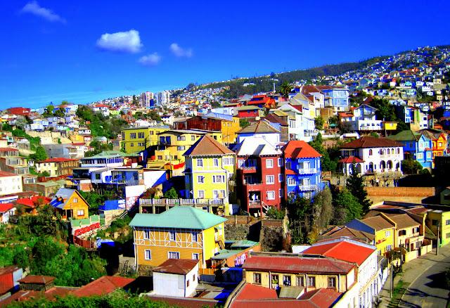 Passeio de lua de mel para Valparaíso e Viña del Mar