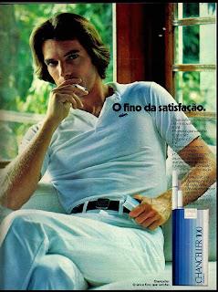 propaganda cigarros Chanceller - 1979; propaganda anos 70; história decada de 70; reclame anos 70; propaganda cigarros anos 70; Brazil in the 70s; Oswaldo Hernandez;