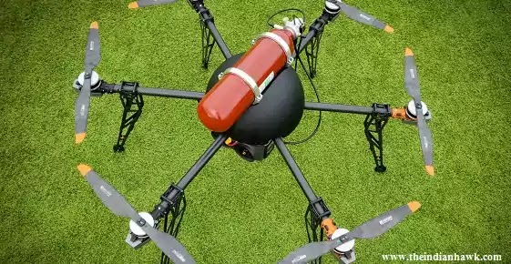 Hydrogen powered Drones