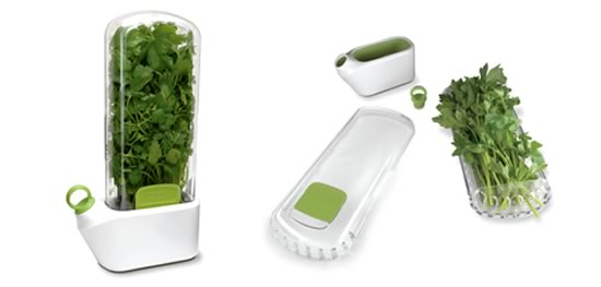 Keep Herbs Fresh for Longer with the Herb Savor