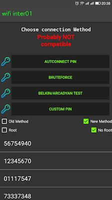 تطبيق تهكير الوايفاي بدون روت WIBR plus باستخدام أداة هجوم لينكس