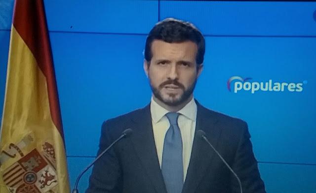 """Casado """"Los amigos griegos de Podemos destruyeron la economía del país"""""""