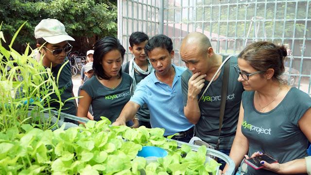 Tamie Tran au Cambodge pour le projet Koya