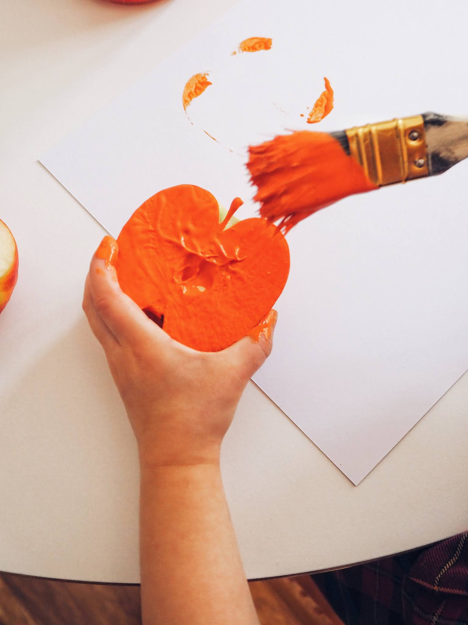 halloween painting for toddlers