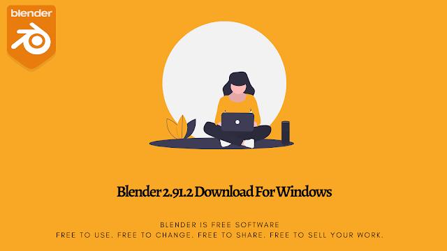 Blender 2.91.2 Download For Windows
