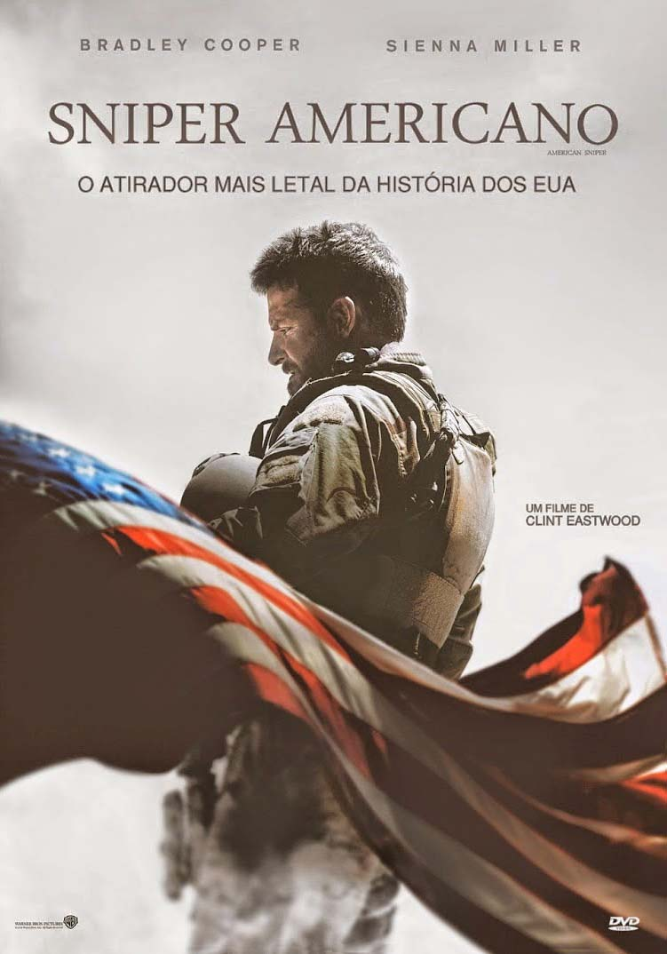 Sniper Americano Torrent - Blu-ray Rip 1080p Dual Áudio (2015)