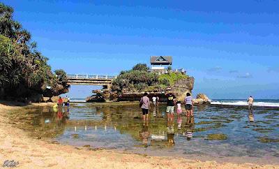 Lokasi Pantai Kukup Gunung Kidul Jogjakarta