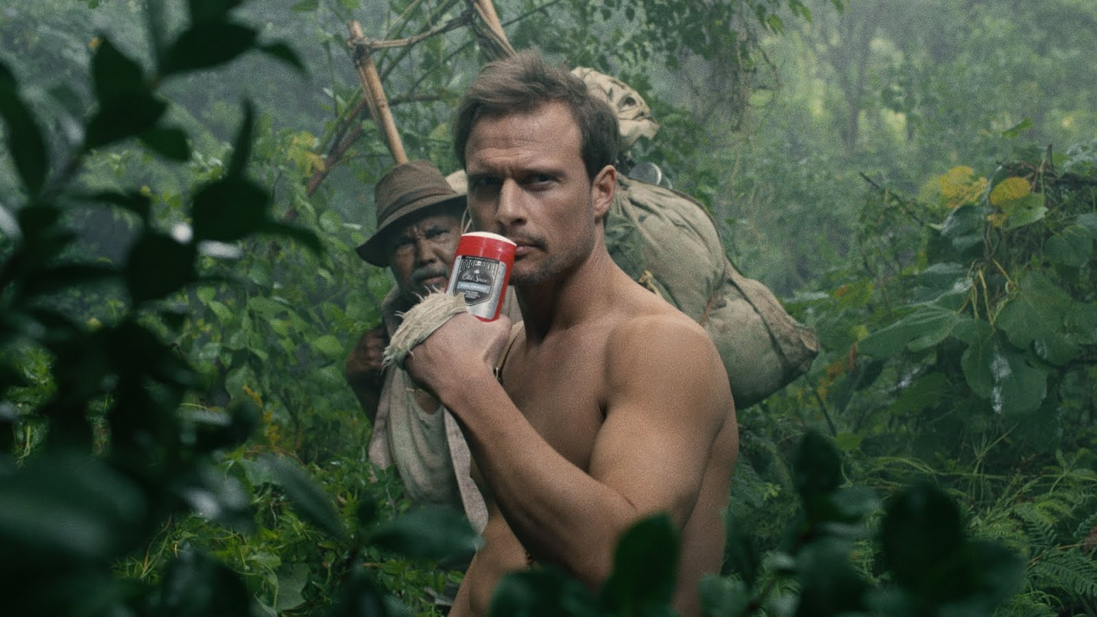 Axel Kiener is the Old Spice 'Jungle Hero' in W+K's Latest Ad