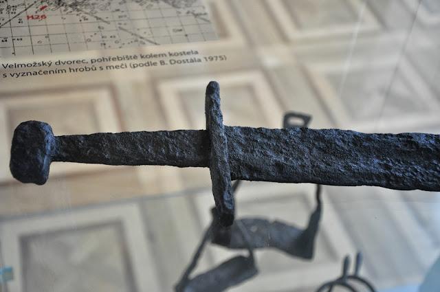 miecz z Pohansko u Břeclavi