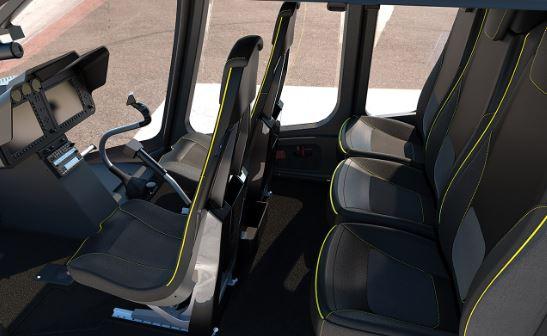 Bell 505 Jet Ranger X interior